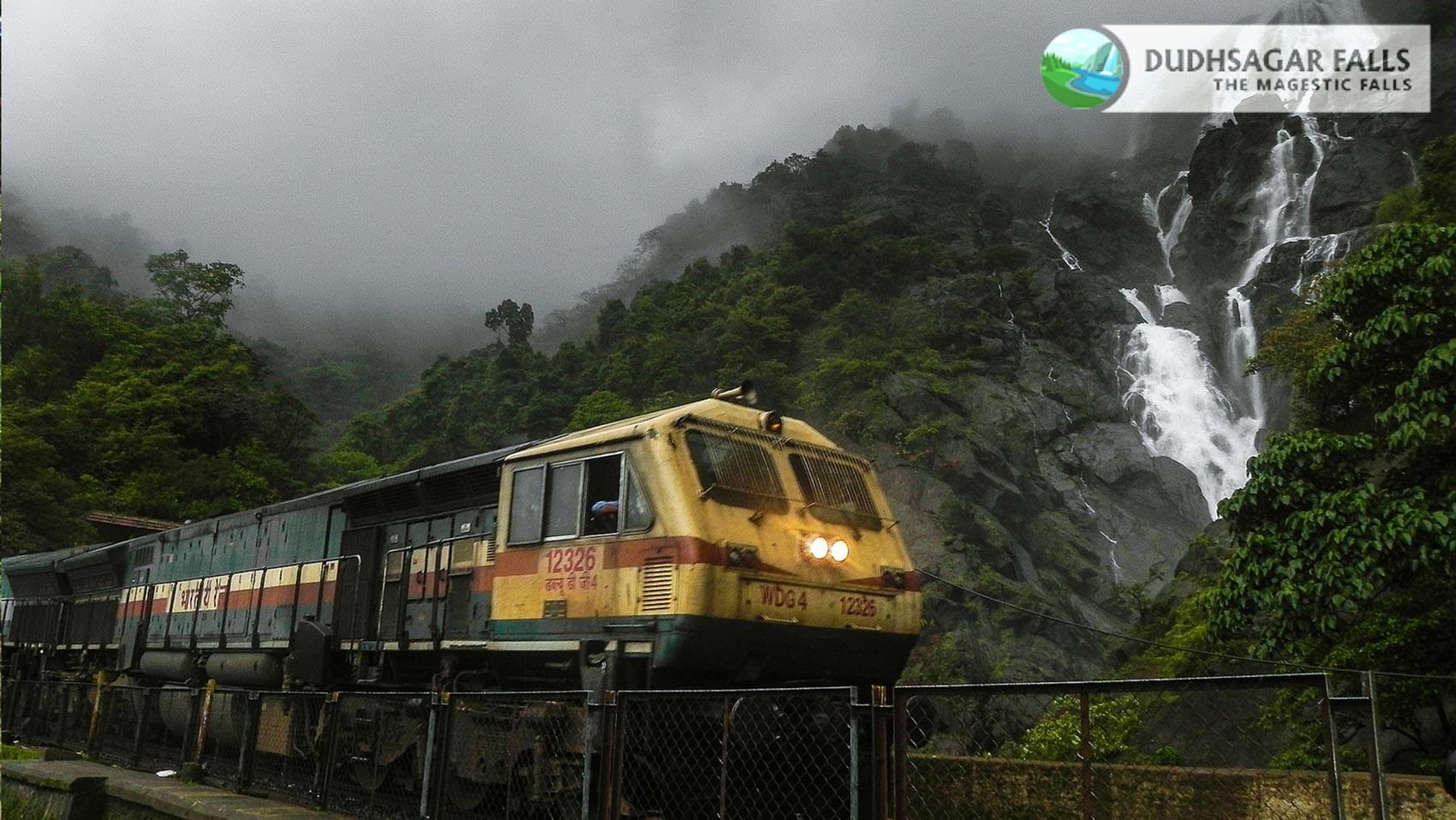 Dudhsagar Waterfall Train-Station - Goa