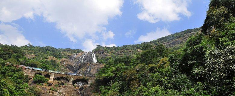 Dudhsagar waterfalls trip from Bangalore