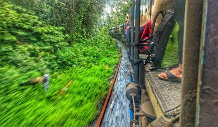 Dudhsagar train Route